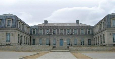 Fachada principal del Palacio.