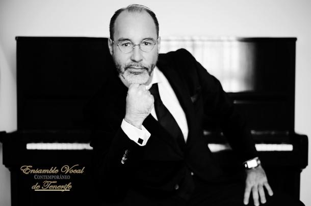 Antonio Abreu Lechado. Director Ensamble Vocal Contemporáneo de Tenerife