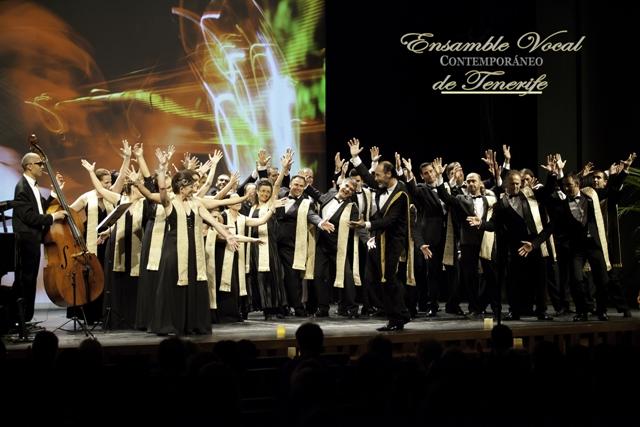 Cartel Ensamble Vocal Contemporáneo de Tenerife