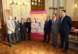 El alcalde de Valladolid, Francisco Javier León de la Riva, en un acto de la Fundación.