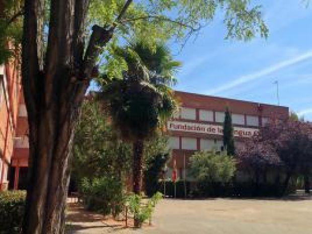Colegio público Giner de los Rios, sede de la Fundación de la Lengua Española.