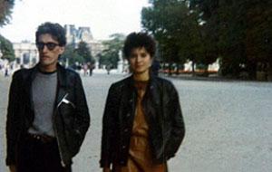 Lois Pereiro y su amiga Piedad Cabo en los años 80.