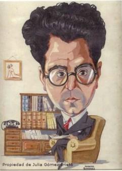 Caricatura de Ignacio Prieto del Egido.