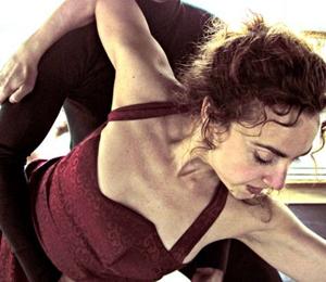 La actriz, bailarina y coreógrafa leonésa Rosario Granell.
