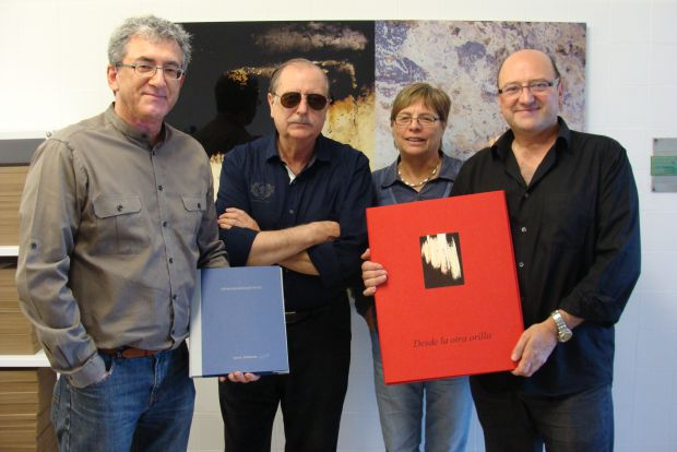 Javier Redondo, Armando Arenillas, Concha Gay y Fernando García Malmierca. Foto: L. Fraile.