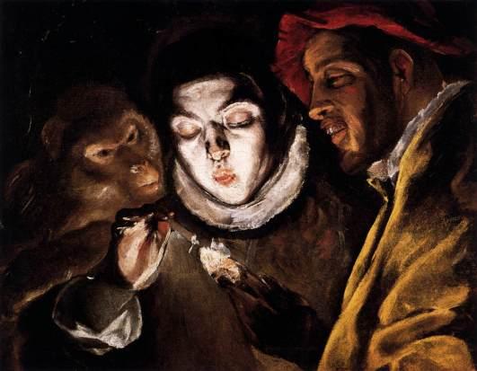 """""""Fábula"""" (1600). © Una obra de Doménikos Theotokópoulos, """"El Greco""""."""