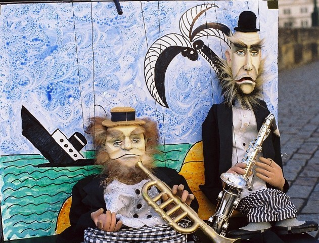 """Swinging Marionettes"". Pavel Vangeli."