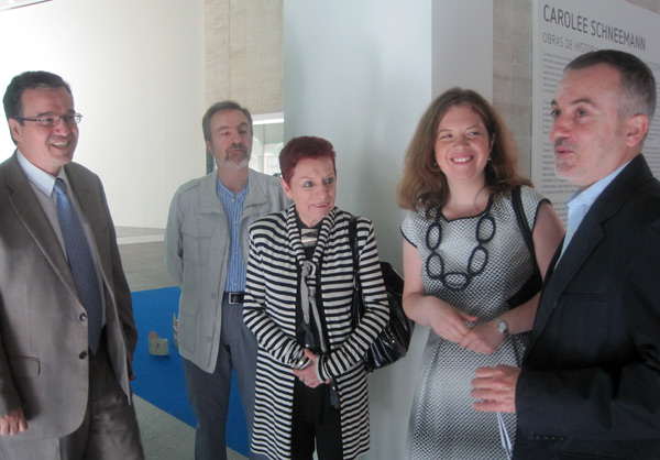 José Ramón Alonso, José Igés, Concha Jerez y Annabelle Tenezé