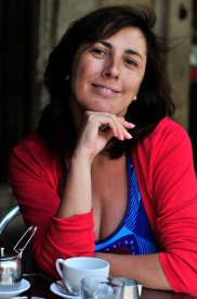 Ana Cristina Herreros, o Ana Griott. © Fotografía: Soledad Felloza.