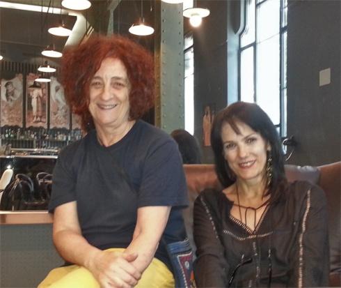 Chefa Alonso y Pilar Martín Gila. © Fotografía: Víctor M. Díez.