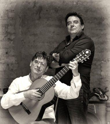 Ildefonso Rodríguez y Juan Carlos Pajares. © Fotografía: José Ramón Vega.