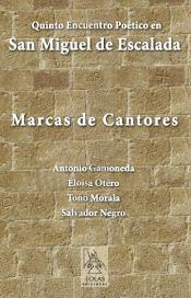 """Portada del libro """"Marcas de Cantores"""", editado por Eolas."""
