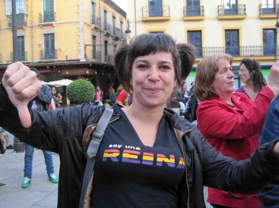 """Soy una reina"". © Fotografía: E. Otero."