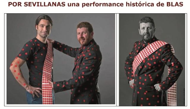 Performance Por sevillanas. Blas