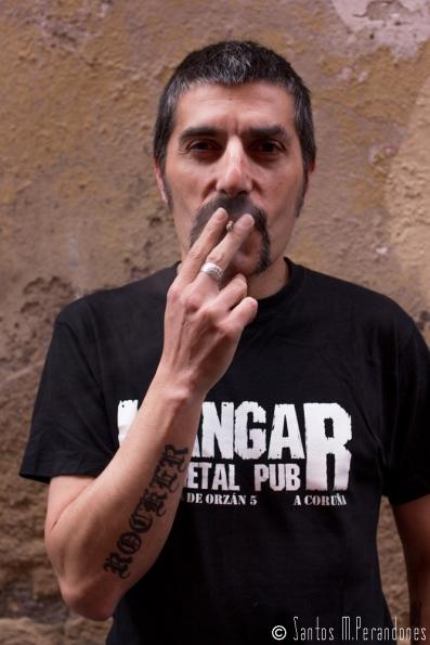El escritor Gabriel Oca Fidalgo. © Fotografía: Santos M. Perandones.