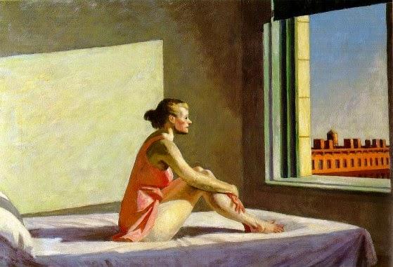 """Morning sun"", una obra del pintor Edward Hopper."