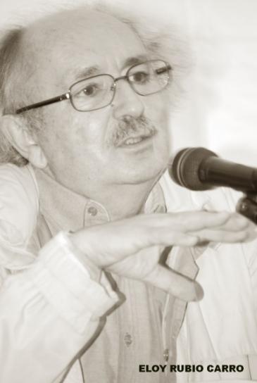 Antonio Colinas. © Fotografía: Eloy Rubio Carro.