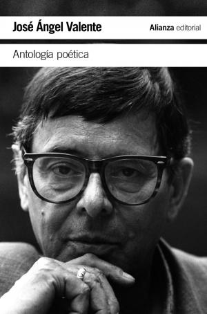 """""""Antología"""" de José Ángel Valente. Portada del libro."""