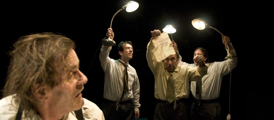 """""""El régimen del pienso"""", por La Zaranda (Teatro Inestable de Andalucía La Baja)."""