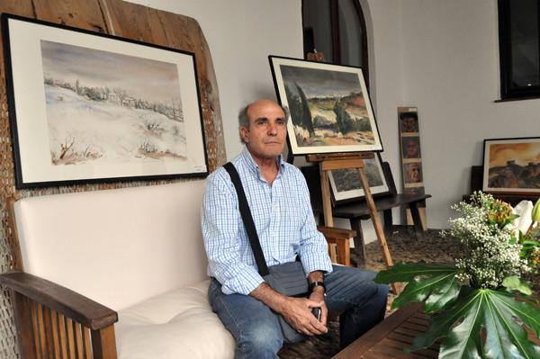 José Antonio Barrera en La Posada del Marqués (Carrizo). © Fotografía: E. López.