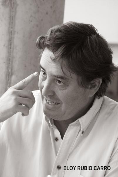 Luis García Montero. Fotografía:Eloy Rubio