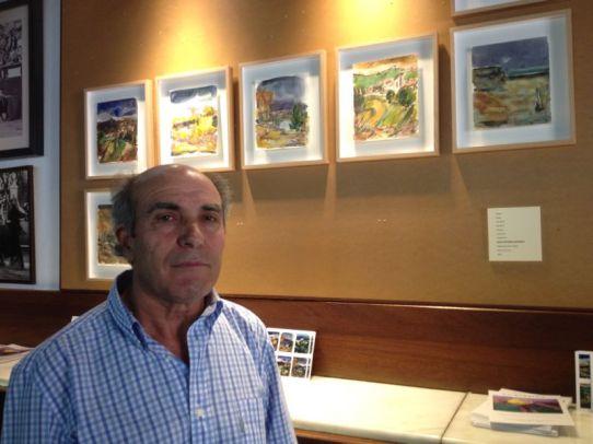 Obras de José Antonio Barrera en el Camarote Madrid (Madrid). © Fotografía: Santocildes.