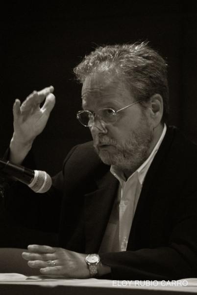 Andrés Sánchez Robayna. © Fotografía: Eloy J. Rubio Carro.