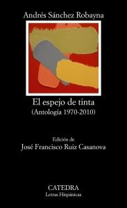 """Portada de la antología """"El espejo de tinta""""."""
