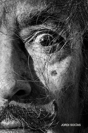 Retrato de Salvador Dalí. © Fotografía: Jordi Socías.