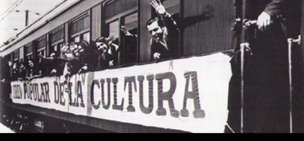 Imagen del Tren Popular de la Cultura (Chile). © Fotografía: Archivo Eulogio Dávalos.