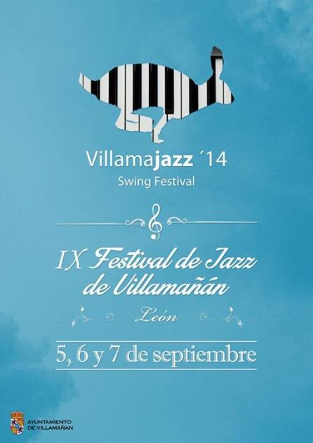 Cartel del festival Villamajazz.