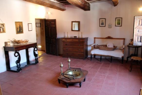 Otra dependencia de la Casa Museo de La Ribera. © Fotografía: Daniel Fernández Adeva.