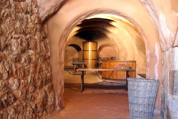 Bodega de la Casa Museo de La Ribera, en Peñafiel. © Fotografía: Daniel Fernández Adeva.