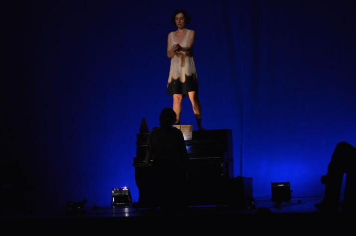 """Imagen del espectáculo """"Penal de Ocaña"""". © Fotografía: Trinidad Osorio."""