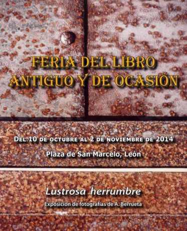 Cartel de la Feria del Libro Antiguo 2014.
