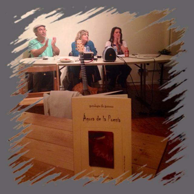 Presentación del libro en el Ateneo Varillas.