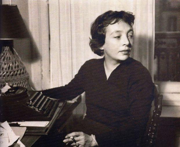 Marguerite Duras, autora de `El parque´.