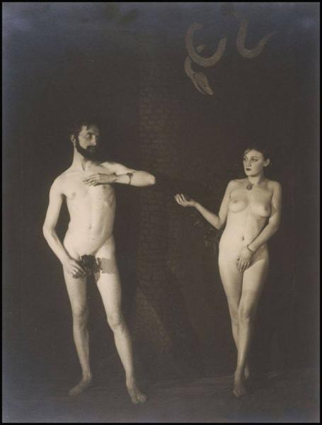 Bronia y Marcel Duchamp. © Fotografía: Man Ray.