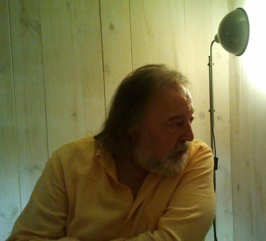 El artista leonés Juan Carlos Uriarte
