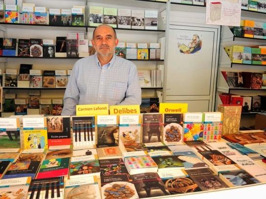 José Ángel Zapatero, editor de Menoscuarto y Ediciones Cálamo. © Fotografía: Julio Jurado.