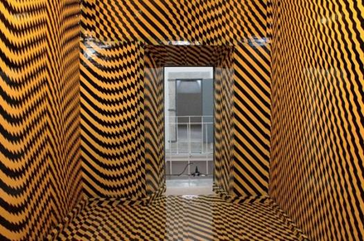 Una de las intervenciones del proyecto Galería. © Fotografía: Segovia Cultura Habitada.