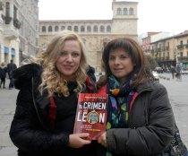 Ángela Domínguez e Isabel Bajo. © Fotografía: Javier Casares.