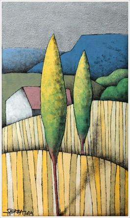 Una de las obras de Manuel Sierra.