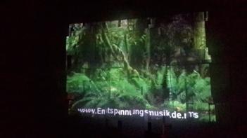 Videoinstalación de Begoña Pérez Rivera
