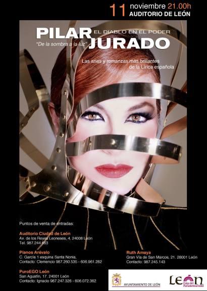 Cartel Concierto Pilar JuradO