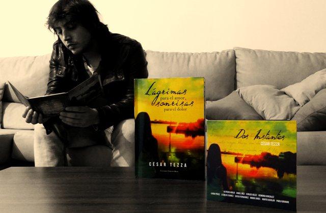 El escritor Cesar Tezza