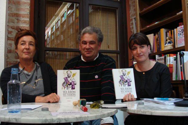 Susana Ordóñez, Fernando Valiño y María Sánchez. Foto: L. Fraile.