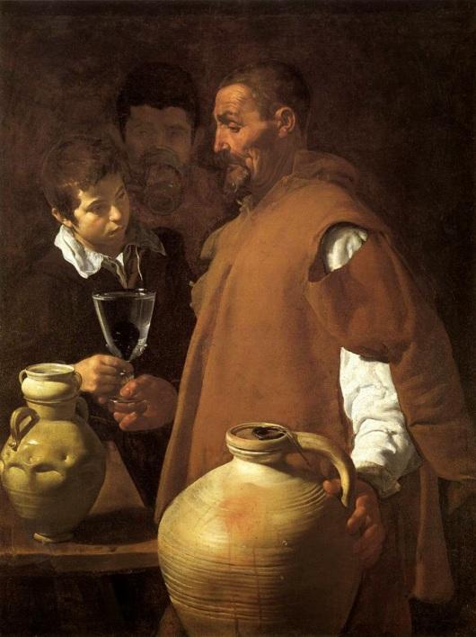 """El aguador de Sevilla"", una obra del pintor Diego Velázquez."