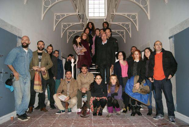 Participantes de la II edición del proyecto Galerías. © Foto: Ayuntamiento de Segovia.