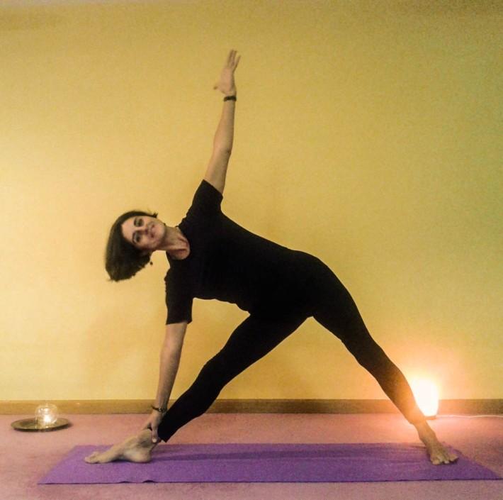 Silvia Díaz Chica. Directora Centro Yoga Iyengar León